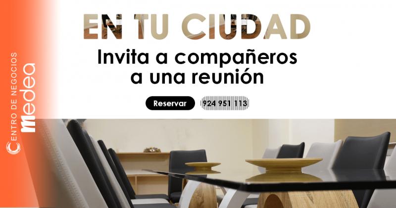 Reuniones de negocios, Entrevistas y Eventos empresariales en tu ciudad