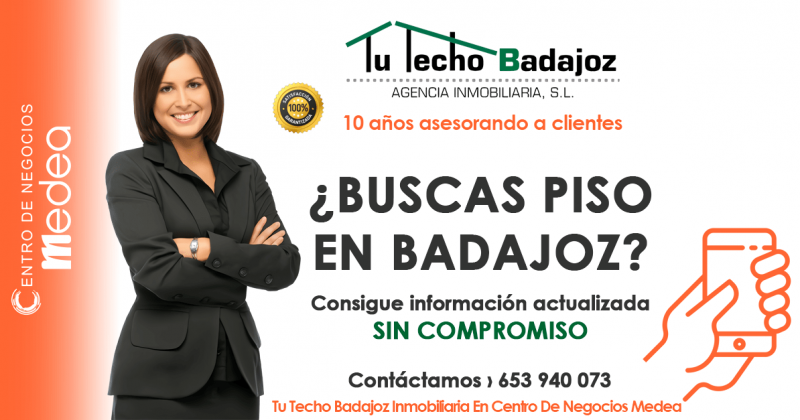 Profesionales inmobiliarios Tu Techo Badajoz