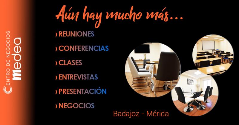 Salones para entrevistas y reuniones  Centro de Negocios Medea