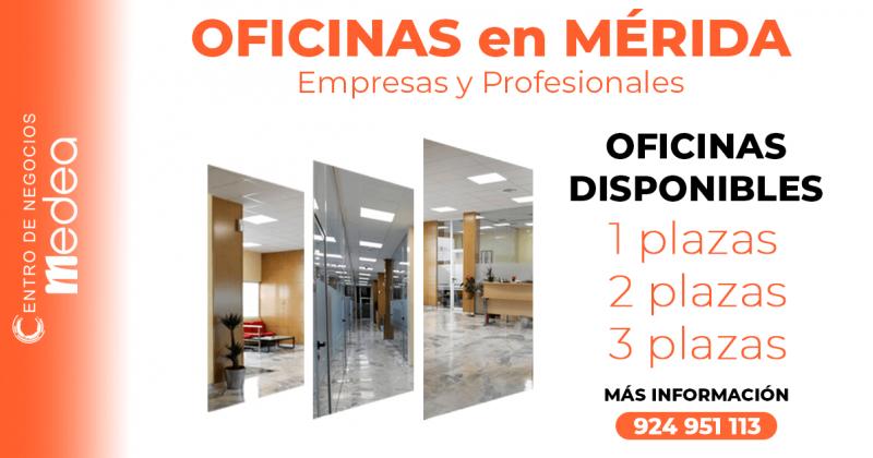 Tu oficina en Mérida Centro Sin coche, Sin estrés