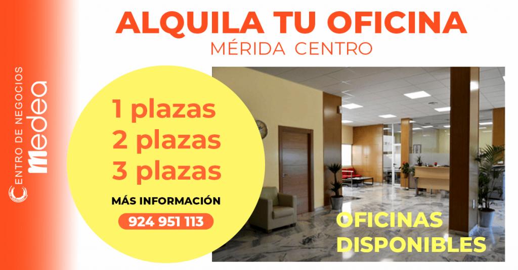 Alquiler de oficinas en Mérida