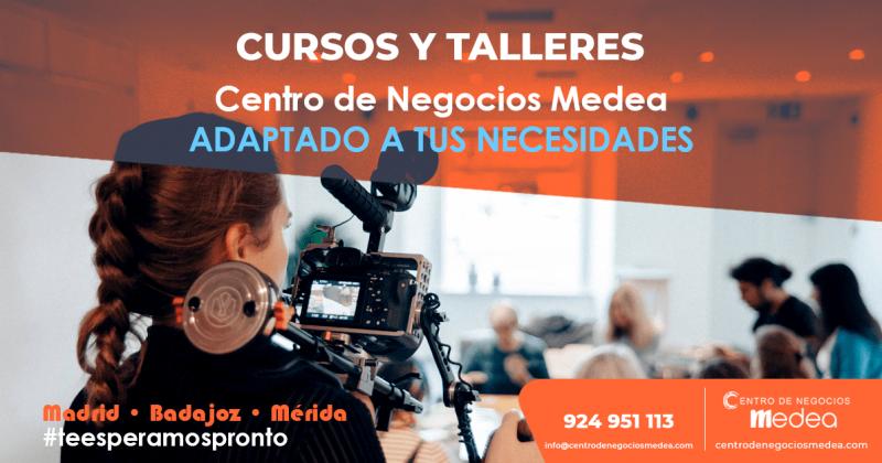 Cursos y talleres en el Centro de Negocios Medea