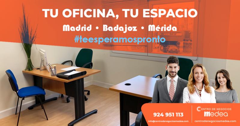 Tu oficina equipada para que trabajes cómodamente