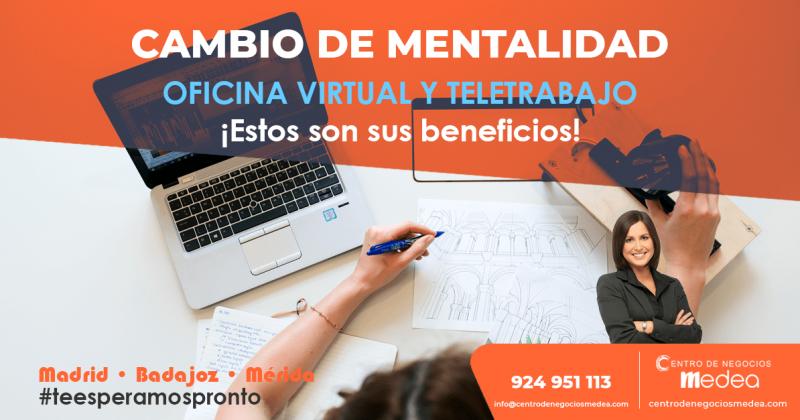 El teletrabajo y las oficinas virtuales