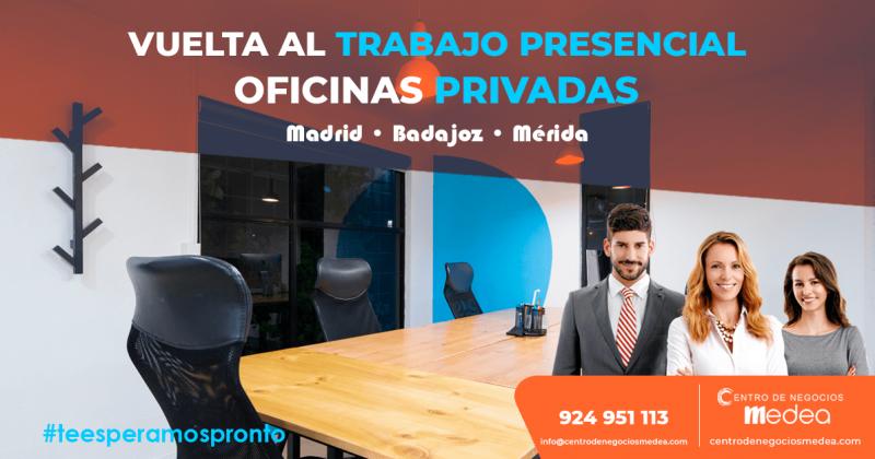 Vuelta al trabajo presencial y oficinas privadas