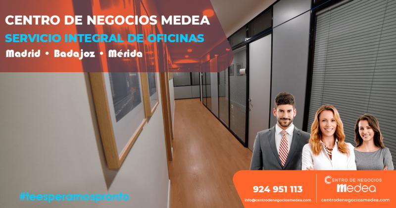 Servicio integral de oficinas en el Centro de Negocios Medea